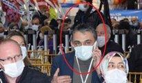 Halka korona ayarı veren Profesör AKP kongresinde 'yakalandı'