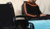 Felçli hasta, nafaka borcu yüzünden gözaltına alındı