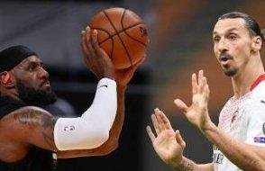 LeBron James'ten Ibrahimovic'e sert cevap