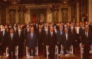 Parti liderleri Erbakan anmasında