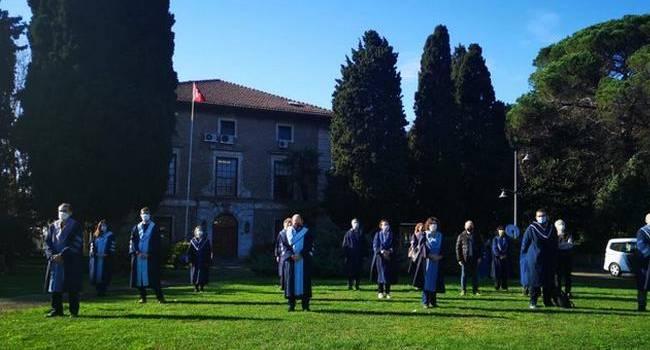 Boğaziçi'nde akademisyenlerin nöbeti 284'üncü gününde