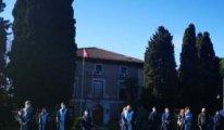 Boğaziçi'nde Naci İnci protestosu
