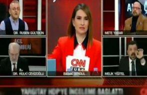 AKP'li gazeteci yayında sinir krizine girdi: Cahil sensin lan alçak!