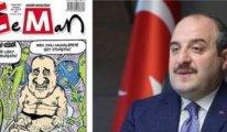 Varank'ın LeMan karikatürüne yaptığı eleştiri alay konusu oldu