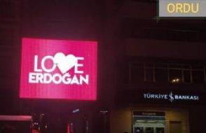 New York'taki 'Stop Erdoğan'a, Ordu belediyesi karşılık verdi