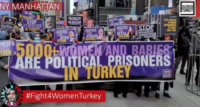 Tutuklu kadın ve bebekler 39 dünya kentinde anıldı