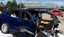 Tesla araçların karıştığı kazalar incelemeye alındı