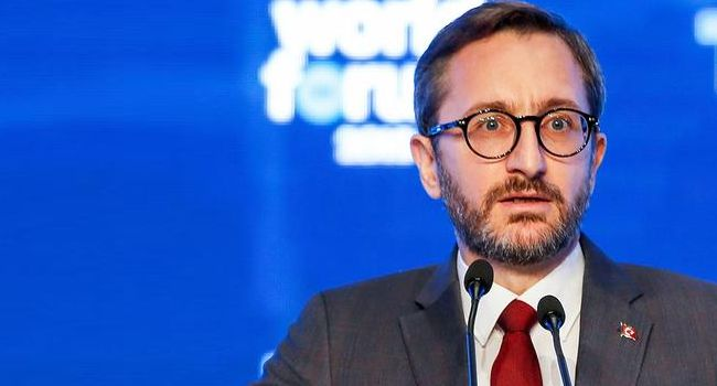 AA'nın röportajı kriz çıkardı: 'Anlayamadım' dedi, Fahrettin Altun'u etiketledi!