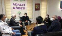 Adalet Nöbeti'ndeki Gergerlioğlu liderleri HDP'ye çaya bekliyor