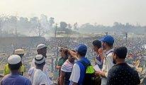 Arakanlı Müslümanların kampında yangın faciası