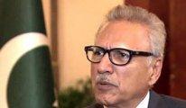 Aşı olan Pakistan Devlet Başkanı Alvi, 10 gün sonra  Kovid-19'a yakalandı