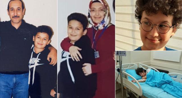 Lösemi hastası Hakan'ın dedesi: