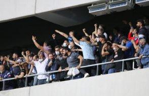 Adana'daki maçta akıl almaz görüntü