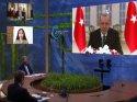 Biden online zirvede Erdoğan'ın konuşmasını dinlemedi