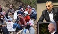 AKP'li Külünk'e göre köylünün taş ocağı eylemini Biden yönetiyor