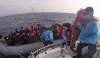 Ege sularına geri itilen 250 sığınmacı kurtarıldı