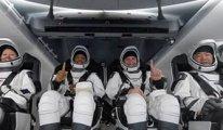 SpaceX ve NASA görevi için uzayda bulunan astronotlar geri döndü