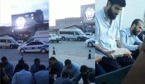 Camide biber gazıyla gözaltına alındılar, emniyet otoparkında iftar yaptılar