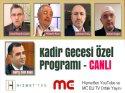 Kadir Gecesi'nde MC EU ve Hizmetten YouTube'dan ortak canlı yayın