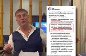 Sedat Peker'e verilen koruma polisinin resmi belgesi çıktı