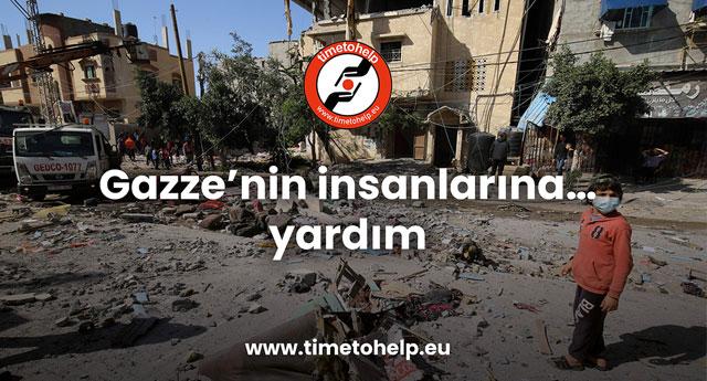 Gazze'ye yardım kampanyası
