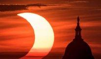 NASA yeni güneş tutulmasının fotoğraflarını yayınladı