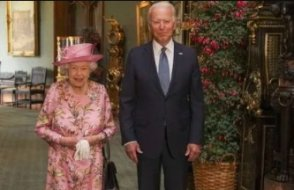 Joe Biden, Kraliçe II. Elizabeth ile görüştü