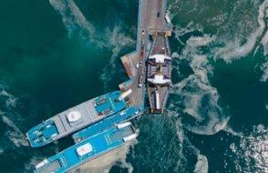 Çanakkale'de müsilaj havadan görüntülendi