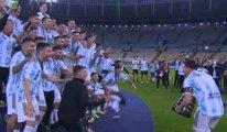 Copa America'da, Brezilya'yı yenen Arjantin şampiyon oldu