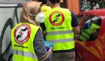 Almanya'da büyük afet : Hizmet Hareketi gönülleri yardım çalışmalarına katıldı
