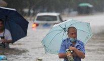 Şimdi de Çin'de sel felaketi: