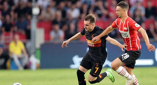 Galatasaray'dan Eindhoven'da ağır yenilgi:5-1