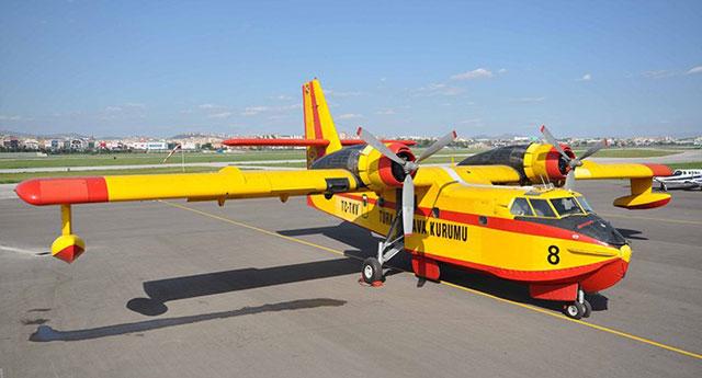Fas'ın bile Türkiye'den fazla yangın söndürme uçağı var