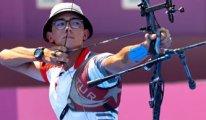 İlk altın... Mete Gazoz okçulukta Olimpiyat Şampiyonu oldu