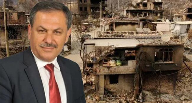 AKP'li başkandan skandal sözler: 'Keşke bizim de evimiz yansaydı' diyecekler