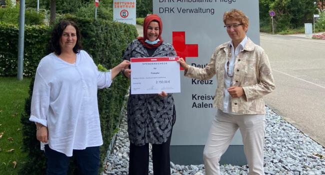 Almanya'daki sel mağdurlarına yardım eli