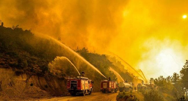 Yangınlar nedeniyle turizmde 20 milyar dolar gelir hedefi tehlikede