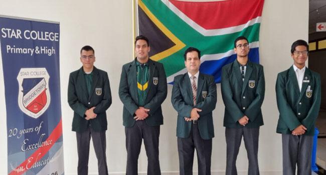 Güney Afrika'daki Star Koleji'inden büyük başarı