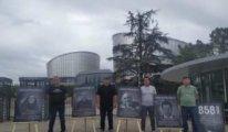 Zorla kaybedilmeler için AİHM'de 'Adalet Nöbeti'
