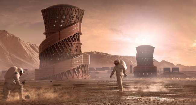 Mars'taki inşaatlarda beton yerine bakın ne kullanılacak