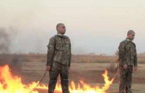 ''2 askerin 'yakılma fetvasını' veren IŞİD'li tutuksuz yargılanıyor''