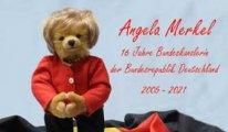 Alman oyuncak fabrikasından Merkel anısına oyuncak ayı