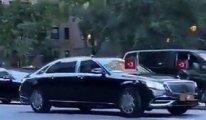 Erdoğan iki zırhlı Mercedes'i de okyanus ötesine uçurdu