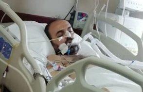 Cezaevinde koronavirüsten ölen KHK'lı Veysel Atasoy'un entübe halde yatağa kelepçelendiği ortaya çıktı