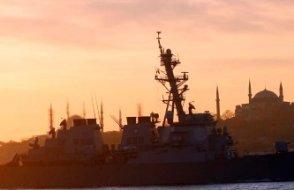 İstanbul boğazında gemiler çarpıştı