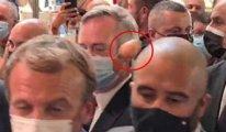 Fransa Cumhurbaşkanı Macron'a yumurtalı saldırı