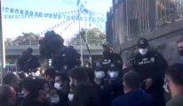 Ankara Gar Katliamı anmasına polis müdahalesi