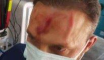 Alevi öğretmene sandalyeli saldırı