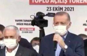 Vatandaş 'geçinemiyorum evim yandı' diye haykırdı, Erdoğan görmezden geldi