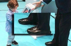 Yürüme ve denge problemleri artık saklanamayan Erdoğan'a özel ayakkabı